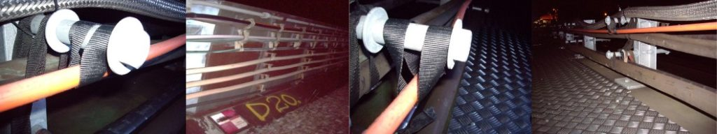 Balata Cable Straps To Support Rail Cables (LU & Network Rail Approved)