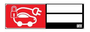 CATU AP-550-M2 ID sign