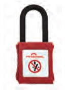 CATU PP-6-38-R-Z Safety Padlock