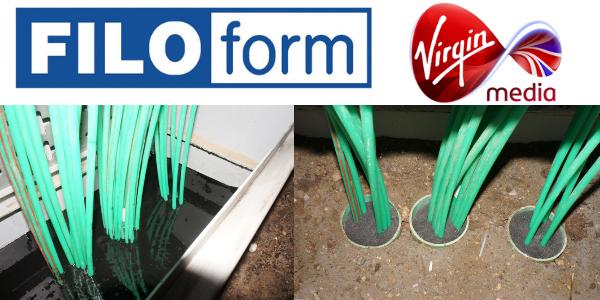 Cabinet Base Sealants - Virgin Media Approved Specification (Filoform 205884)