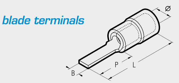 Cembre blade terminals