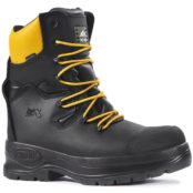 Linesmens Boots | Class 3 Electrical Hazard Chain Saw Lineman Boot | Rock Fall RF328