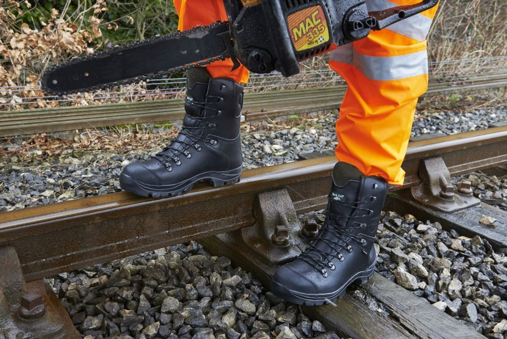 Linesmens Boots - Class 3 Electrical Hazard Chain Saw Lineman Boot