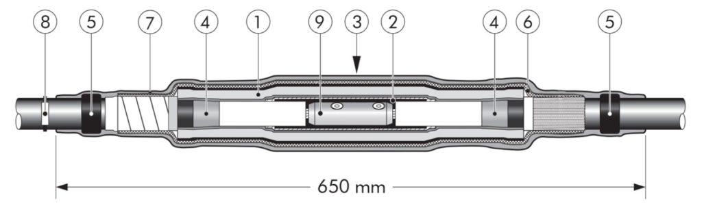 Nexans CSJA-S Cold Shrink Joints 24kV