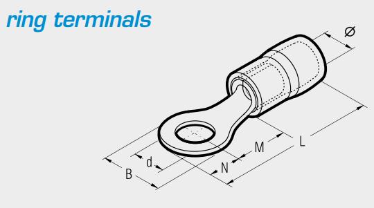 Cembre Ring Terminals