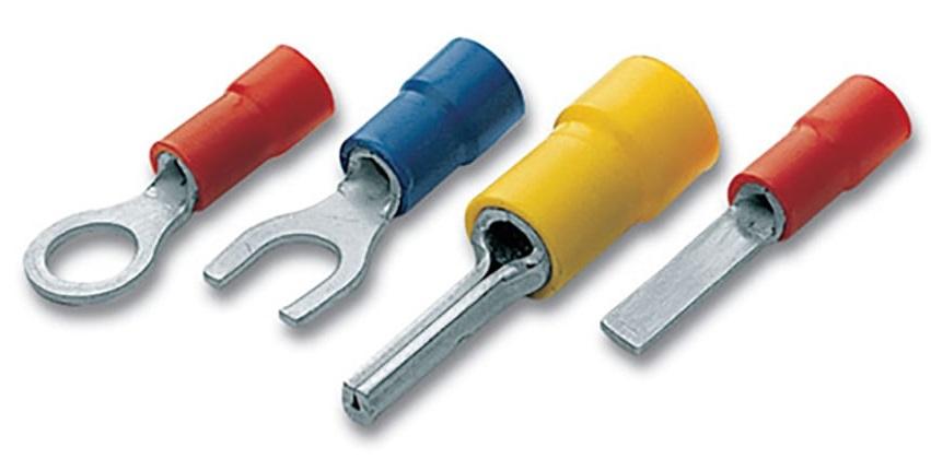 Cembre F-M PVC Insulated Crimp Ring Terminals