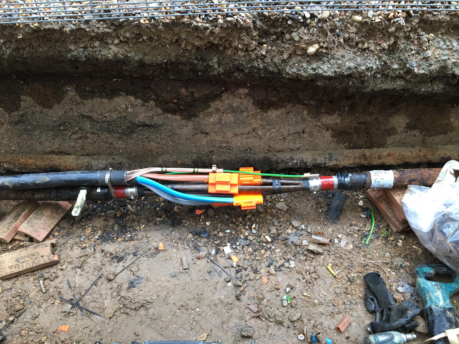 PILC Cable Joints & LV Switchgear Connections