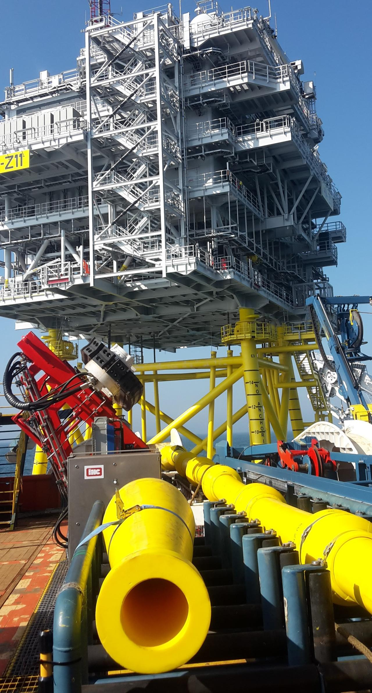 Subsea Cable Repair Protection Power And Cables