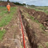 11kV Triplex Cables | Underground Trench Installation