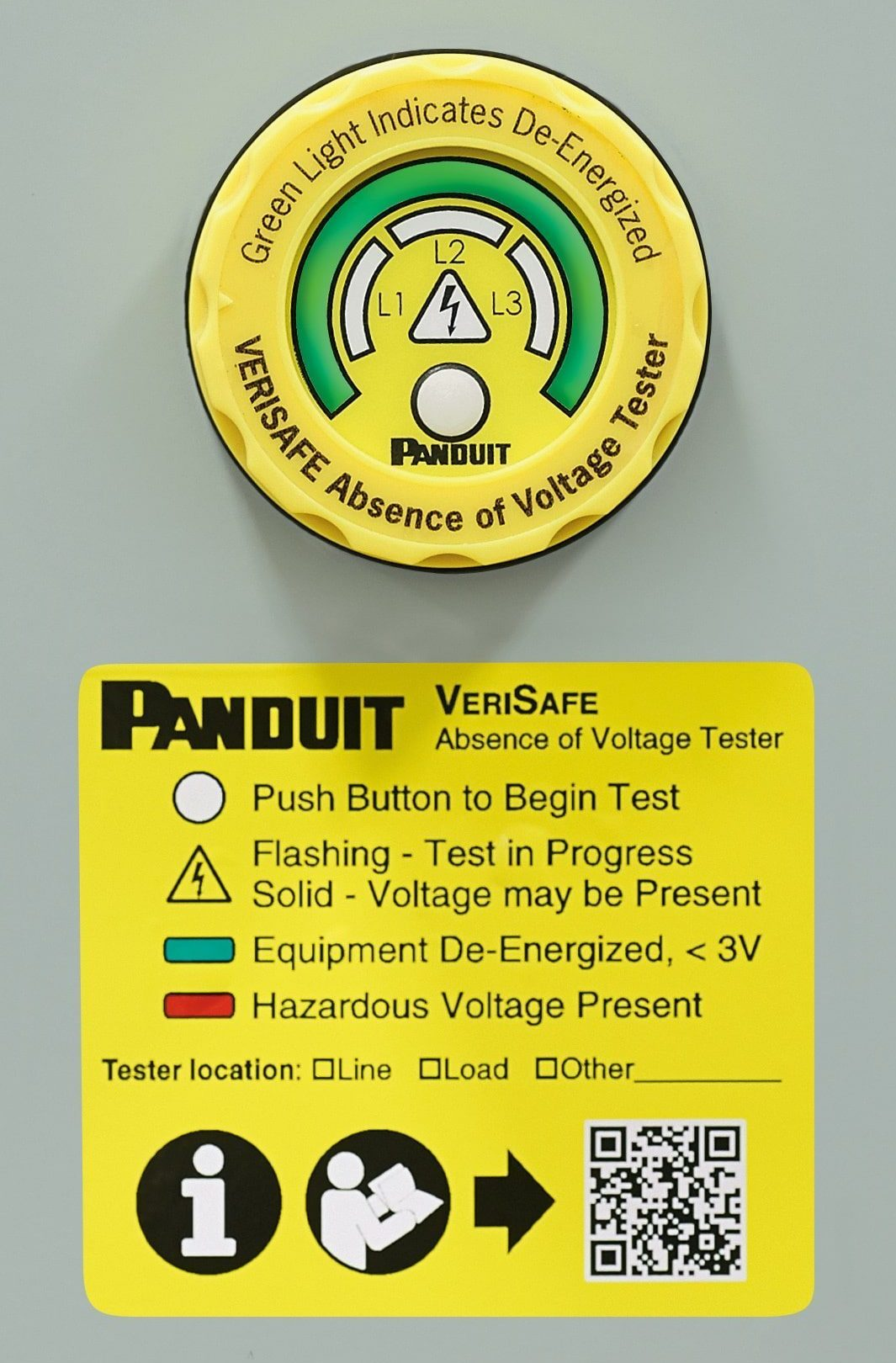 Panduit Verisafe Instructions