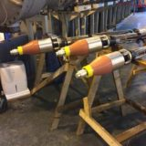 Sudkabel Plugs Terminating 132kV Lead Sheath Cables Into Gas Insulated Switchgear (GIS)