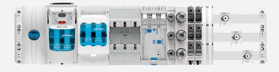 630A 800A 2500Amps Busbar Systems for LV Power Distribution & Panel Boards Wohner 60Classic