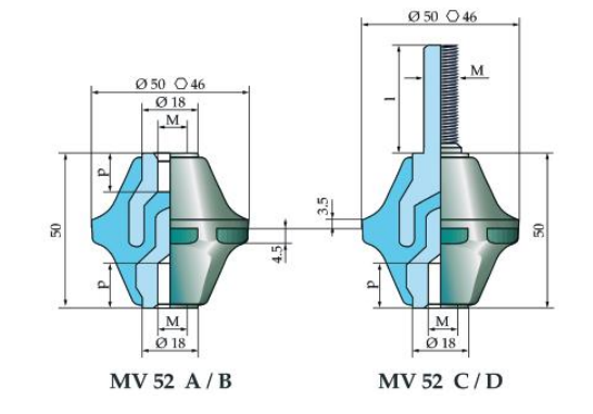 Micaver Insulators MV52