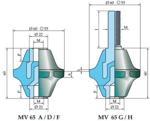 Micaver Insulators MV65