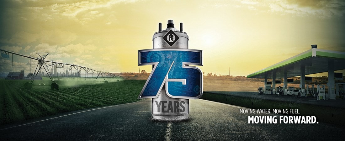 Franklin Electric 75 years