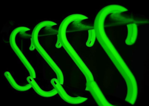 Phosphoric Glow In The Dark Cablesafe Cable Hooks