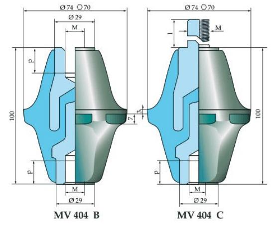 Micaver Insulators MV404