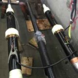 110kV Oil Filled Taihan High Voltage Cable Joints