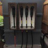 Cooper Connectors Terminating 33kV Cable Onto Interface E Bushings (Shunt Reactor)