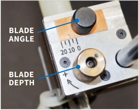 Ripley US01 blade depth