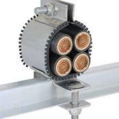 Quad Cable Cleats – CMP Quadplex QPSS Metal Cable Cleats
