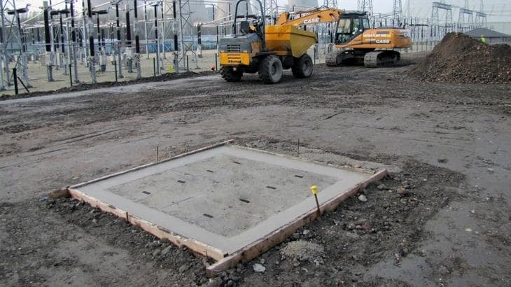 Concrete Infill Access Chamber Cover Installation