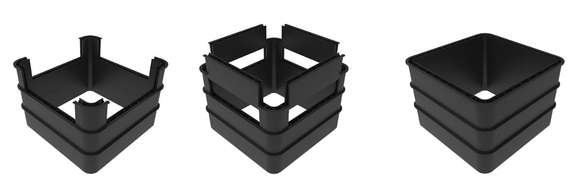 Cubis STAKKAbox Modula Access Chamber