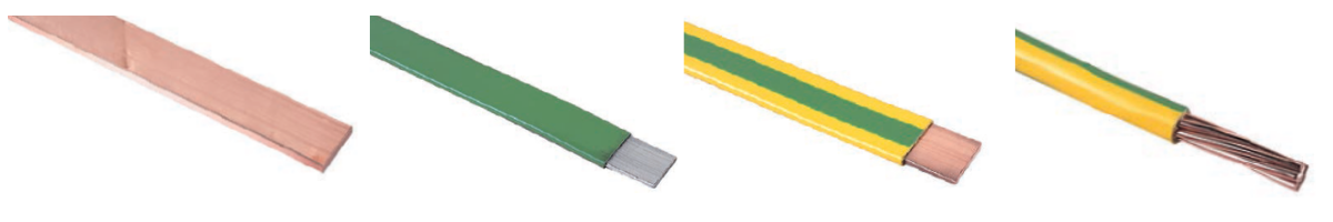 Hard Drawn Copper Bar | PVC Covered Aluminium Tape | Green & Yellow PVC Insulated Copper Tape | Green & Yellow PVC Insulated Stranded Copper Cable