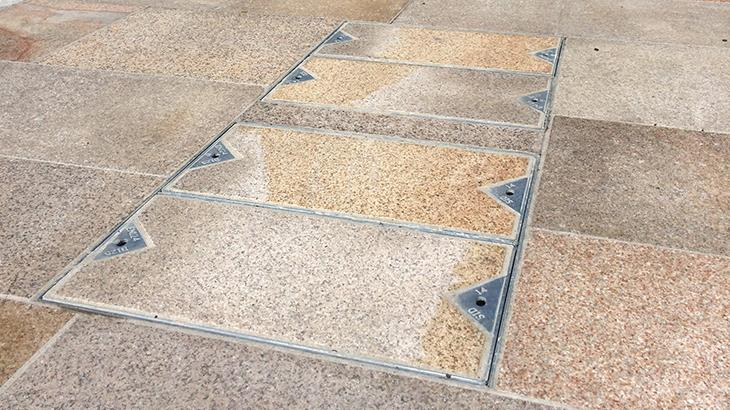 Recessed Covers Installation