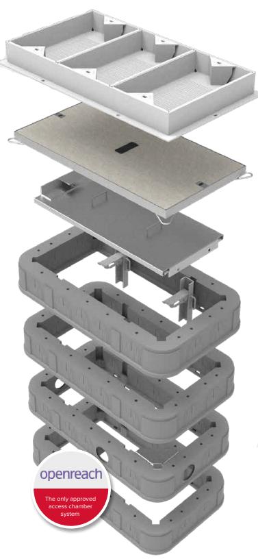 Quad Access Chamber