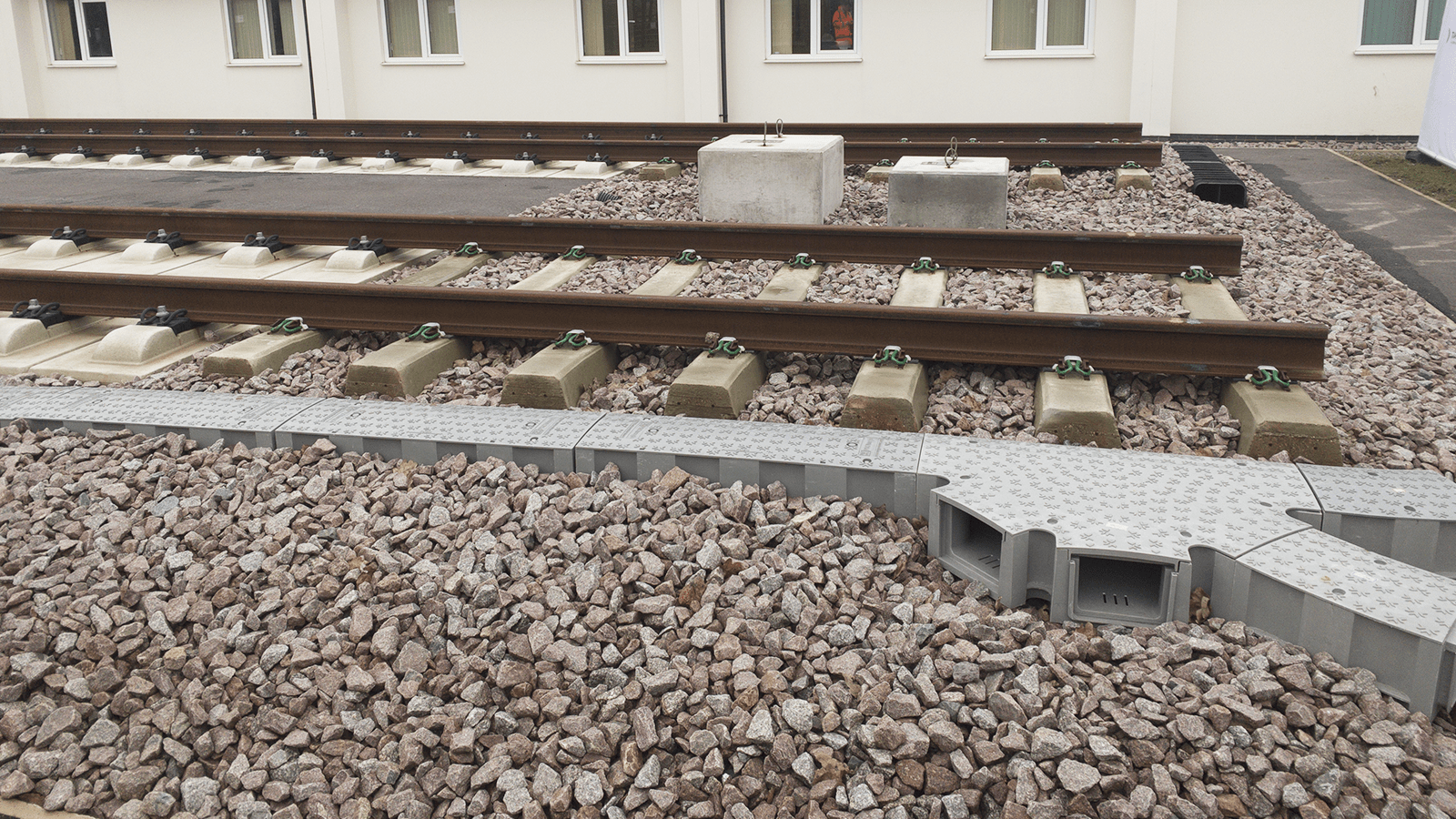 Rail Track Cable Trough