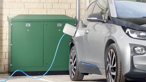 EV Charging Pillars