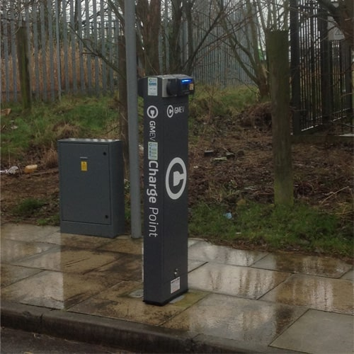 RH500 GMEV Charge Point | Ritherdon