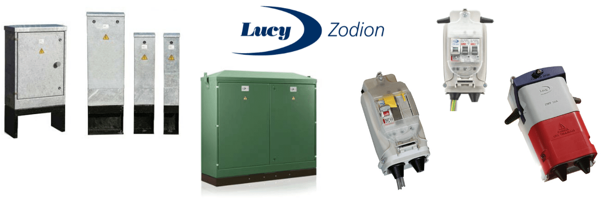 Lucy Zodion Electric Vehicle Power Supply Feeder Pillars for EV Charge Points