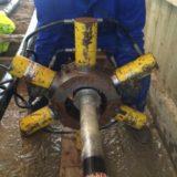 Installing 132kV Prysmian Cable Joints Using Prysmian Multi Ram Crimping Tool