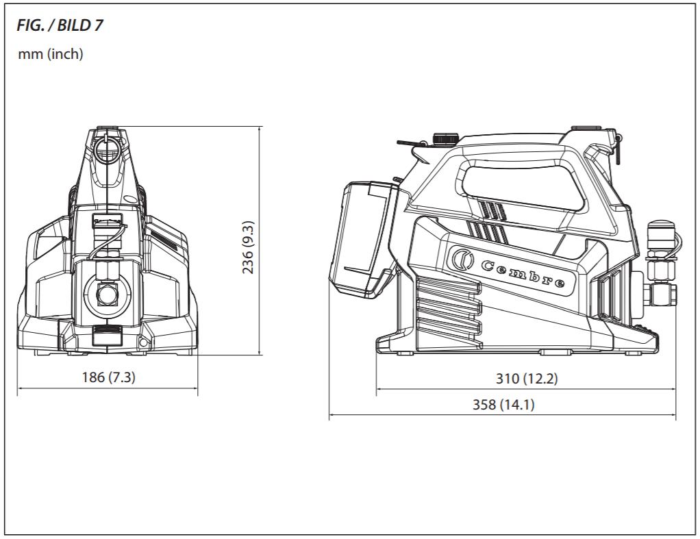 cembre B68 MP18E Operating Manual 7