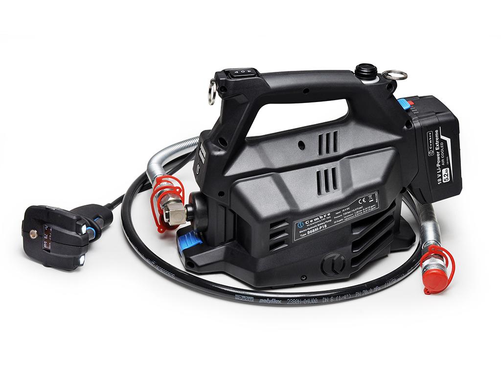 portable electro hydraulic pump b68m p18