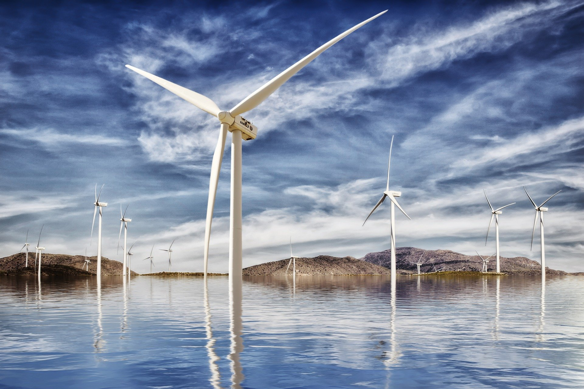 LED Lighting For Offshore Wind Farms