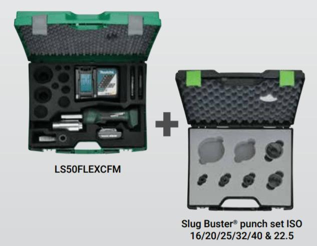 LS50 Flex Hydraulic Punching Tool