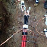 11kV EPR Triplex Cable Joints Using Lovink Enertech Medium Voltage LoviSil Cable Joints