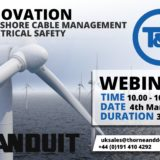 WEBINAR INVITE | Offshore Cable Management & Electrical Safety