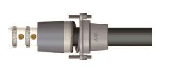 GIS plug-in termination TP-A, 42 kV