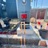 Copper Brazing of Earth Tapes for 33kV Transformer & Substation Earthing Protection