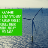 Why Large Offshore Wind Farms Should Double Their Intra-Array Voltage
