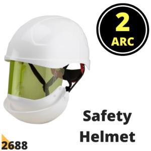 Arc Flash Helmet 2688   8.4 Cal Arc Flash Protection Helmet PPE