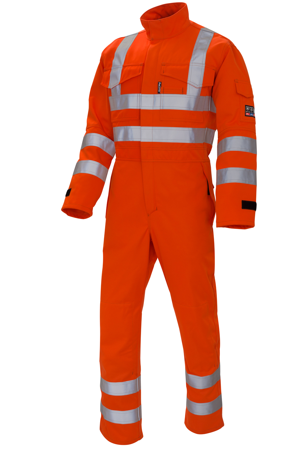 Rail Industry | ProGARM 4690 is premium quality Hi-Viz Orange Arc Flash Coverall. Designed for the protection of workers on or near the rail trackside requiring garments certified to RIS-3279-TOM.