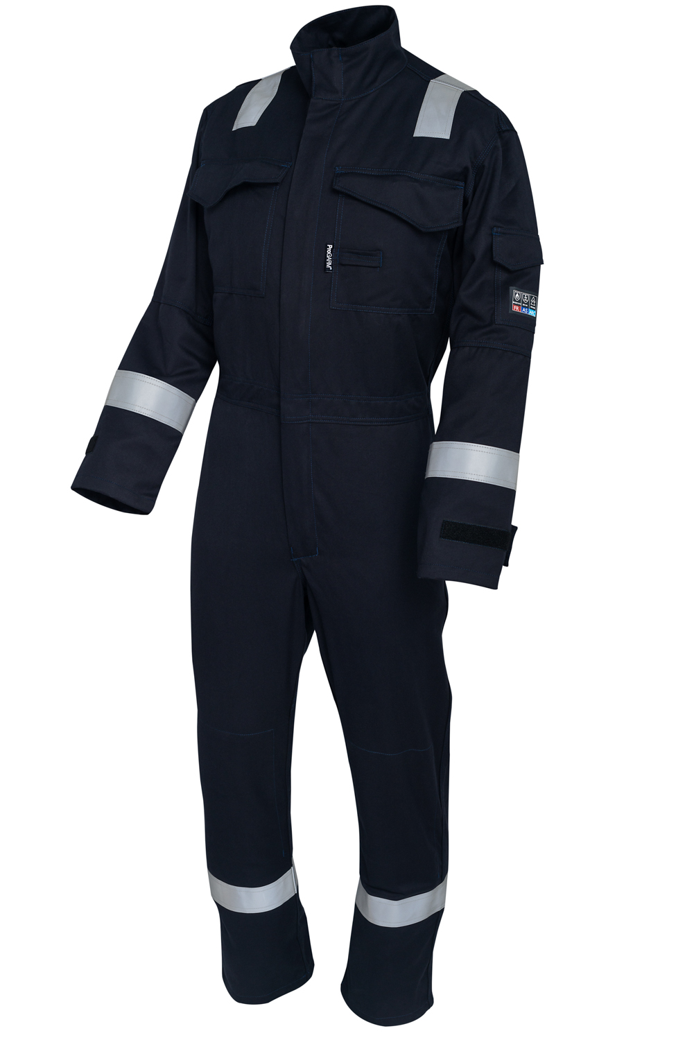 Featured Product | the best selling coverall featuring reflective tape and the lightweight ProGARM VXS+ Flame Resistant fabric whilst ensuring outstanding Arc Flash protective properties. CE Certified for Arc Flash protection to Class 1 and 9.5 cal/cm².