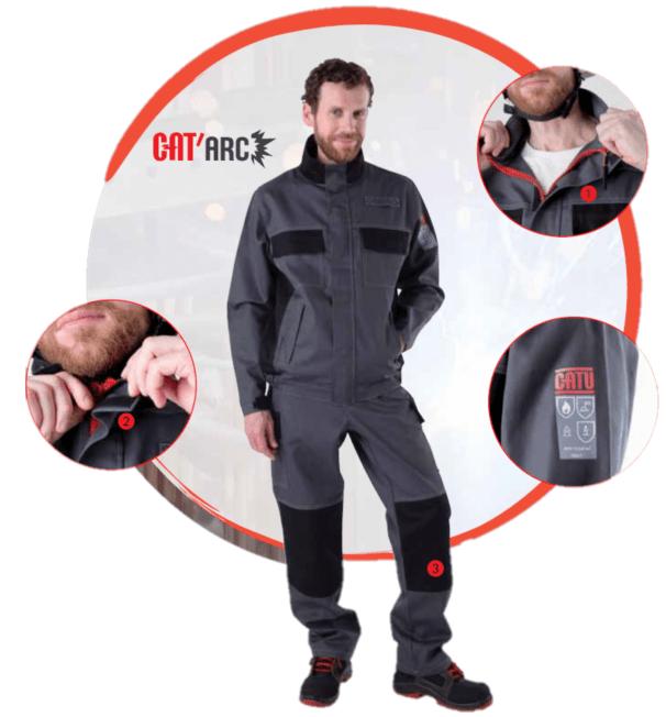 CATU Arc Flash Suits