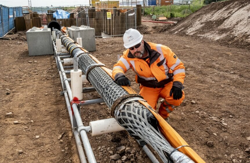 Pulling & Supporting Power & Subsea Cables in the Wind Sector | Cable Grips