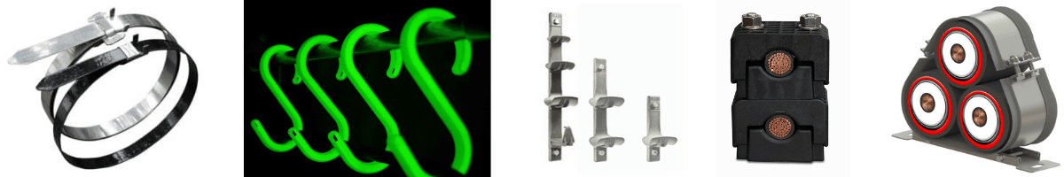 Cable Management | Cable Cleats, Cable Clamps, Cable Hangers